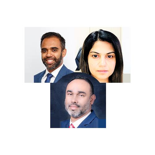 Picture of Navinesh Chand, Arif Hussain and Shabana Muhajir